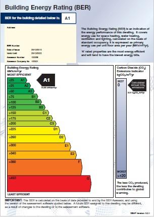 Building Energy Rating Ber Certificate Seai Ber Munnelly Ber